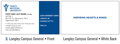 Trinity western university business card order form twu business card order form card template 1 card template 2 flashek Images