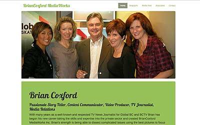 Brian Coxford website