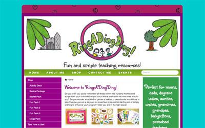 RingADingDing website