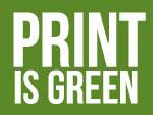 Print is Green